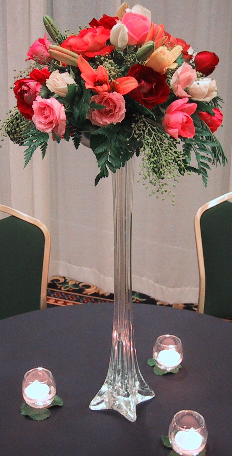 Tall vases for centerpieces sale